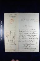 Nederland, Complete Brief Van Tiel Naar Vlaardingen 1850, - Pays-Bas