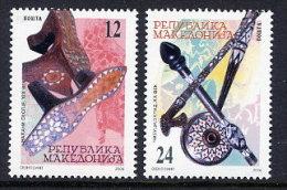 MACEDONIA 2006 Handicrafts  MNH / **..  Michel  382-83 - Macedonia