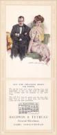 CABRI , Saskatchewan , Canada , 1913 ; Ink Blotter , Artist Howard Chandler CHRISTY - Saskatchewan