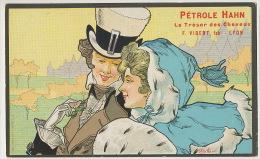 Bottaro Couple Art Nouveau Pub Petrole Hahn Cheveux F. Vibert Lyon A Hair Treasure Is Found In Hahn's Petroleum - Bottaro