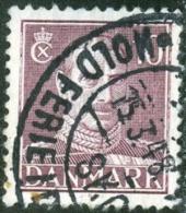 DANIMARCA, DANMARK, 1942, KING CHRISTIAN X, FRANCOBOLLO USATO, Scott 280 - Oblitérés
