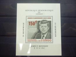 REP.DU CONGO BLOC 15 Xx ( COB ) COTE : 5.50 ( B ) - Mint/hinged