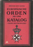 ORDEN ORDRE DECORATION MEDAILLE EUROPE CATALOGUE PRIX GUIDE COLLECTION - Médailles & Décorations