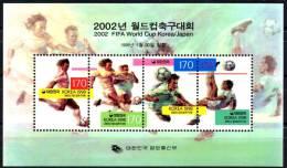 COREE DU SUD SOUTH KOREA SÜD 1998 FOOTBALL SOCCER FUSSBALL WORLD CUP COUPE DU MONDE JAPAN JAPON 2002 WM Mi. 653 - Korea, South