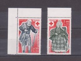 FRANCE / 1977 / Y&T N° 1959/1960 ** : Croix-Rouge (Chemineau & Guérisseuse) - Gomme D'origine Intacte - Unused Stamps