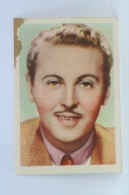 Old Trading Card/ Chromo Topic/ Theme Cinema/ Movie - Actor: Allan Jones - Chocolate