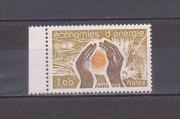 FRANCE / 1978 / Y&T N° 2007 ** : Economies D´énergie - Gomme D´origine Intacte - France