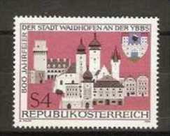 Austria - 1986 Waidhofen 800 Years 4s MNH **          Sc 1355 - 1945-.... 2nd Republic