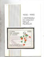 1930 - 1990 I MONDIALI DI CALCIO NELLA FILATELIA - Francobolli