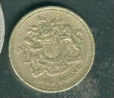 UK 1983 ONE POUND (£1) - Pia7503 - 1971-…: Dezimalwährungen