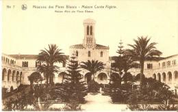 POSTAL DE ARGELIA DE MISSIONS DES PERES BLANCS- MIASON CARREE ALGERIE - Argelia