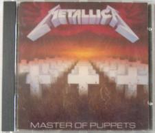 METALLICA CD 8 Titres + Livret  ROCK Métal  Master Of Puppets Bon état - Hard Rock & Metal