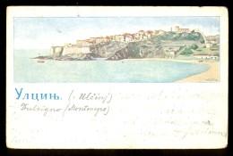 Ulcinj ------ Old Postcard Traveled 1902. - Montenegro