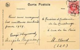 10818. Postal BRUGGES (Belgien) 1929. Bruges, Le Dyver - Bélgica