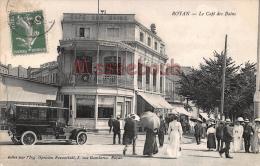 17 - ROYAN  - Café Des Bains  - 2 Scans - Royan