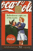 Hungary, Coca-Cola, Girls, 1997. - Alimentation