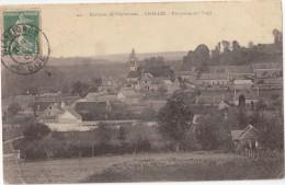 CPA - Environs De Pierrefonds (60) - CHELLES - Panorama - 1907 - Otros Municipios