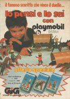 Playmobil - Sceriffo - Carovana - Pubblicità 1977 - Advertising - 9188 - Publicités