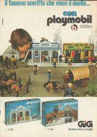 Playmobil - Il Famoso Sceriffo - Pubblicità 1977 - Advertising - 9183 - Publicités