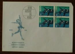 SUISSE - FDC 1965 - YT N°755 - Championnats Du Monde De Patinage Artistique - BERN - FDC