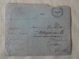 Lettre Camp Militaire D'internement Tscheppach Suisse Pr Roquecourbe Tarn 1940 - 1939-45