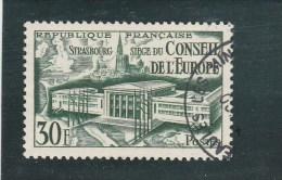 FRANCE YT 923 CONSEIL DE L EUROPE OBLITERE 1952 - Gebruikt