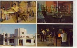 MEXICO - Cristales de CHIHUAHUA; Glass Factory JUAREZ ,  had crafted glass