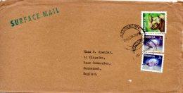 RHODESIE. N°305 De 1978 Sur Enveloppe Ayant Circulé. Rhinocéros. - Rhinozerosse