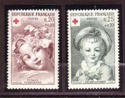 FRANCE  -  Année 1962 -  N° 1366** - 1367**   -  MNH - Unused Stamps