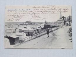 La PLAGE Et Le PIER () Anno 1907 ( Zie Foto Voor Details ) - Maasmechelen