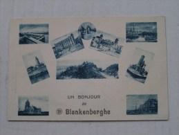 Un BONJOUR De BLANKENBERGHE - Anno 1926 ( Zie Foto Voor Details ) - Maasmechelen