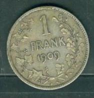 Belgique - Léopold II - 1 Frank - 1909   Pia7415 - 1865-1909: Leopold II