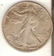 MONEDA DE PLATA DE ESTADOS UNIDOS DE HALF DOLLAR DEL AÑO 1944  (COIN) SILVER-ARGENT - EDICIONES FEDERALES