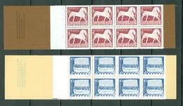 Sverige 1973  Yv  C778**, C779** Boekje/carnet 778**/779** Complete Booklets - Carnets
