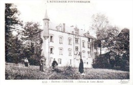 Les Châteaux En Auvergne - Environs D'Issoire - Château De Saint-Mandé - Très Beau Plan Animé - Issoire