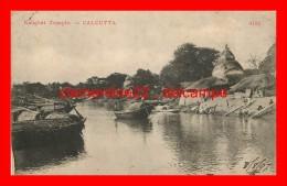 Calcutta Kalighat Temple   (voir Scan Recto Et Verso ) - India