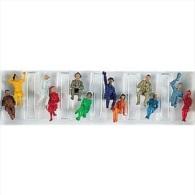 - FLEISCHMANN - Figurines 1/87° - Personnages Divers Assis - Boite De 12  -  Réf 6470 - HO Scale