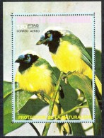 K220 FAUNA VOGELS BIRDS OISEAUX VÖGEL AVES GUINEA-ECUATORIAL 1974 PF/MNH - Oiseaux