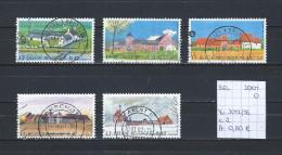 België 2001 - YT 3012/16 Gest./obl./used - Belgien