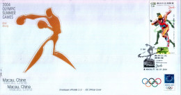 OLIPIADI DI ATENE 2004 - FDC