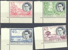 _4Zw901: N° 196/ 9: XXX Postfris : Mint Never Hinged.. - Ruanda-Urundi