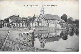 VELIZY - La Mare Et L'Eglise - Velizy