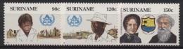 Surinam 1987 Internationales Jahr Für Menschenwürdiges Wohnen 1220/22 Postfrisch - Surinam