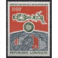 Gabun 1974 Amerikanisch-sowjetische Weltraumforschung 539 Postfrisch - Gabun (1960-...)
