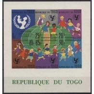 Togo 1961 15 Jahre UNICEF Block 7 Postfrisch (R20733) - Togo (1960-...)