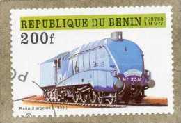 BENIN : Trains Modernes : Renard Argenté (1935) - Transport - Rail - Chemin De Fer - - Bénin – Dahomey (1960-...)