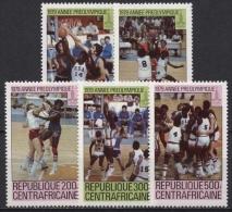 Zentralafrikanische Republik 1979 Olympiade Moskau 653/57 A Postfrisch - Repubblica Centroafricana