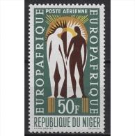 Niger 1963 Gründung Der Wirtschaftsorganisation EUROPAFRIQUE 52 Postfrisch - Niger (1960-...)