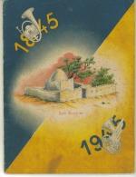 Document De 36 Pages Plaquette Du Centenaire 1845 1945 Du Drapeau Des 5 ° BCAP De Chasseurs De Sidi  Brahm En Algériee - Historische Dokumente