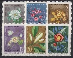 Vietnam-Nord 1964 Blüten 301/06 Postfrisch - Viêt-Nam